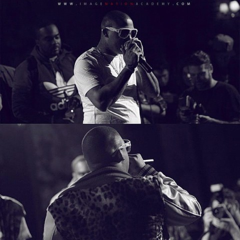 Ra Ra at a recent performance at Drom in NYC (East Village) 10-17-12