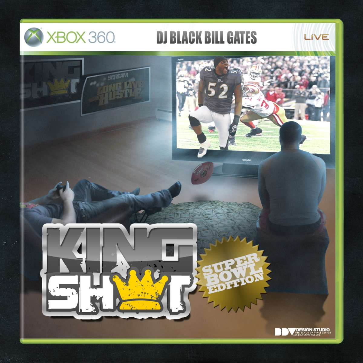 Mixtape: Dj Black Bill Gates- King Sh*t (Super Bowl Edition)