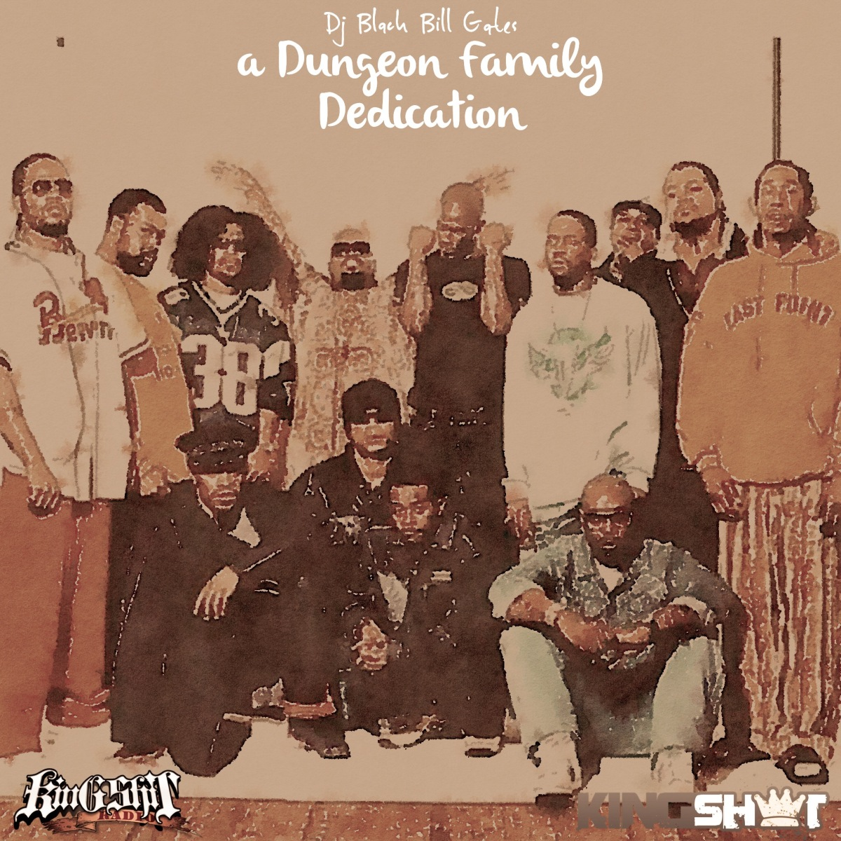 KingShxt Radio x DJ Black Bill Gates : A Dungeon Family Dedication [MIXTAPE]