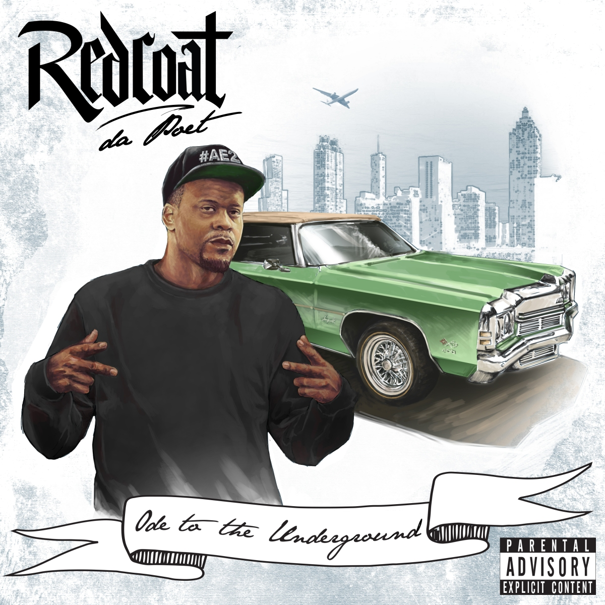 Redcoat Da Poet : Ode To The Underground [ALBUM]